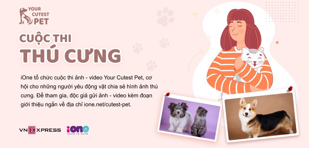 Tình bạn của Á hậu Huyền My với cún cưng một mắt - 21