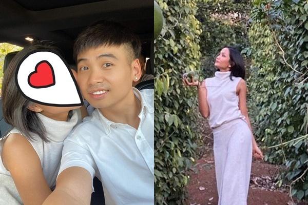 Tuấn Khôi đăng ảnh bên HHen Niê nhưng che mặt bạn gái.