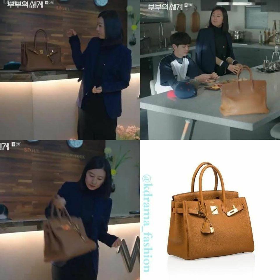 Bộ sưu tập túi xách của Sun Woo cho thấy cô không chỉ giỏi giang trong công việc mà còn rất sành sỏi thời trang.