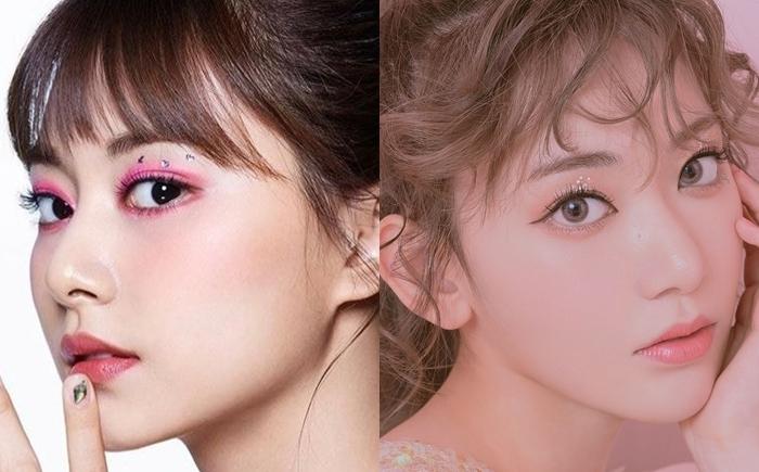 Người dùng mạng cho rằng ở góc nghiêng, Sakura và Tzuyu có một số nét tương đồng.