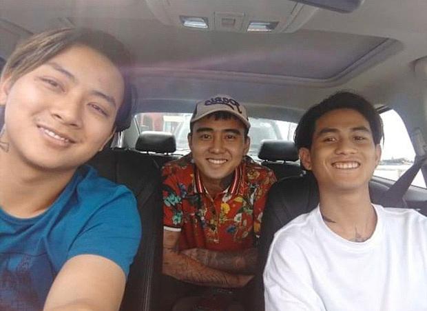 Đạt G cùng một người bạn từ TP HCM xuống Vĩnh Long thăm Hoài Lâm.