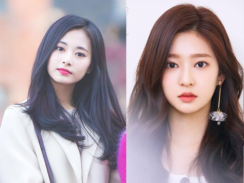 Min Joo được nhận xét là có ngoại hình khá giống Tzuyu, đặc biệt là đôi mắt.