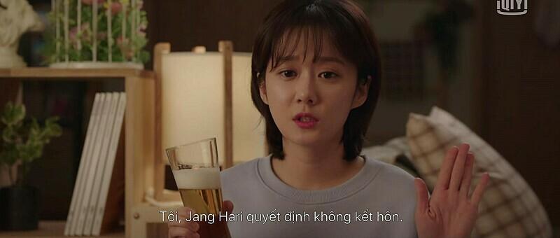 Jang Hari (Jang Nara) quyết định không kết hôn, làm mẹ đơn thân.