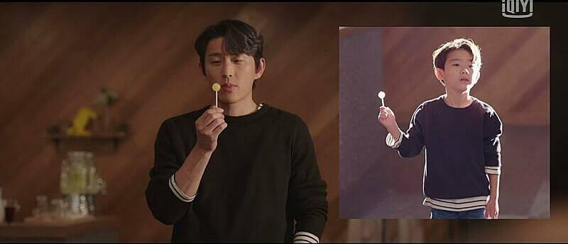 Nếu Yisang là cha, đây sẽ là một đứa trẻ nhiều yêu cầu, tràn đầy tự tin và cũng là 1 áp lực lớn cho Hari.