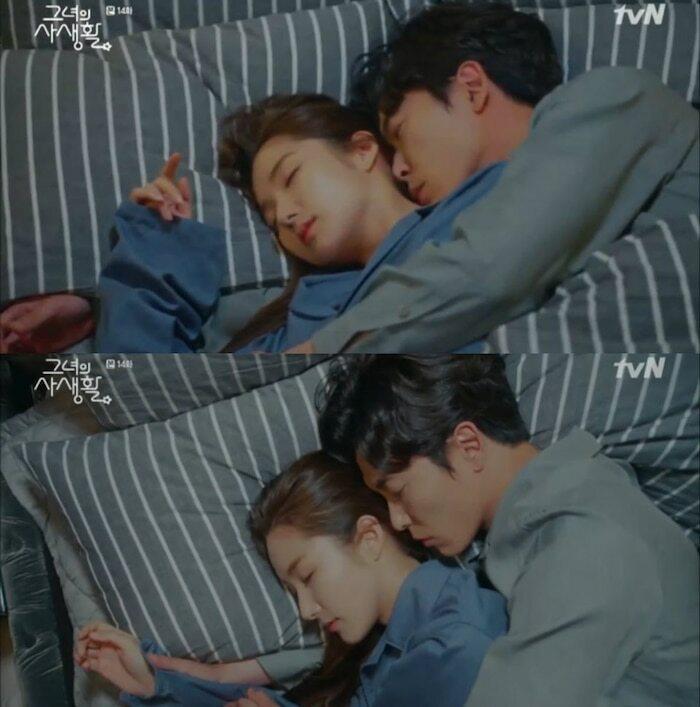 Những cảnh giường chiếu gây chú ý của màn ảnh Hàn gần đây - 9