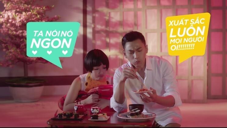 Isaac và Amee hóa thành vlogger Quỳnh Trần JP và bé Sa.