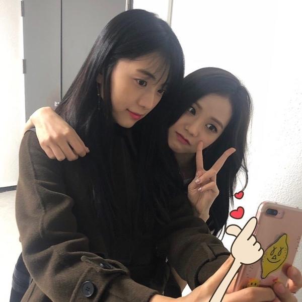 Hội chị gáixinh đẹp không kémngười nổi tiếng của sao Kpop