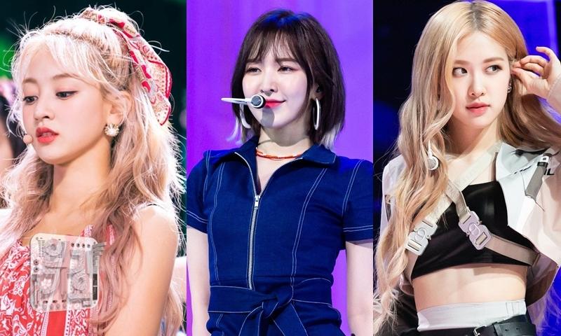 Ji Hyo, Wendy, Rosé: main vocal của ba girlgroup hàng đầu Kpop.