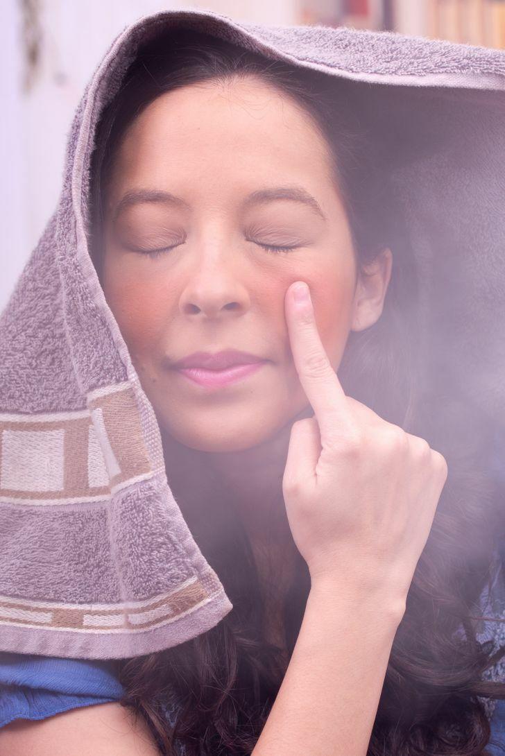 Lợi ích khi xông hơi da mặt mỗi tuần - 5