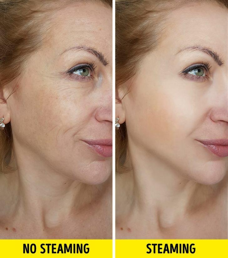 Lợi ích khi xông hơi da mặt mỗi tuần - 7