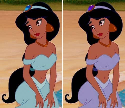 5s tìm phiên bản auth của 10 nhân vật Disney nổi tiếng