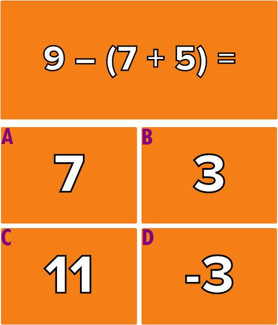 Giải quyết 6 phép tính này mà không cần máy tính (2)