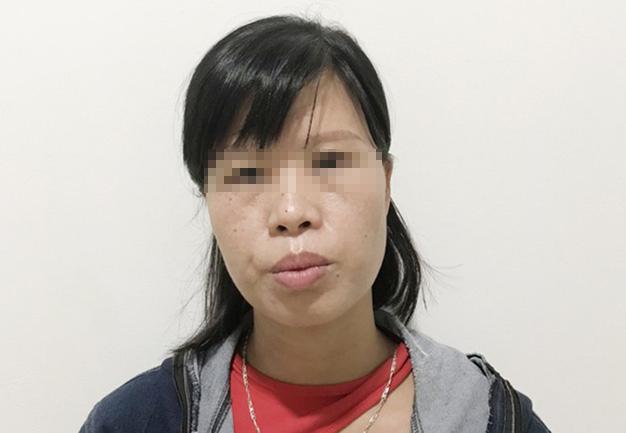 Đối tượng Phạm Thị Thành. Ảnh: Công an TP Hà Nội