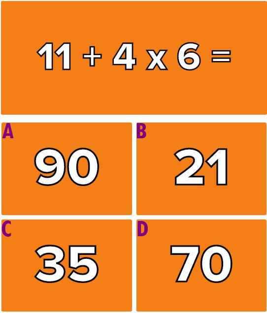 Hãy giải quyết 6 phép tính này mà không cần máy tính - 5