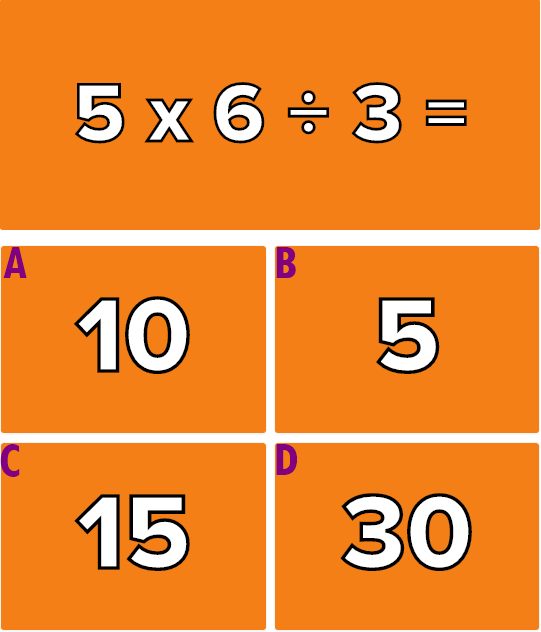 Giải quyết 6 phép tính này mà không cần máy tính (2) - 4