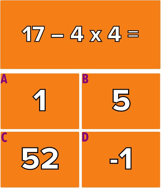 Hãy giải quyết 6 phép tính này mà không cần máy tính - 7