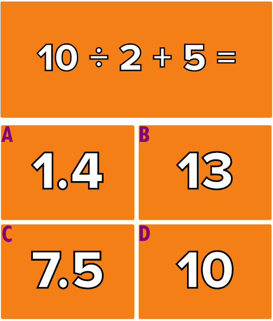 Hãy giải quyết 6 phép tính này mà không cần máy tính - 9