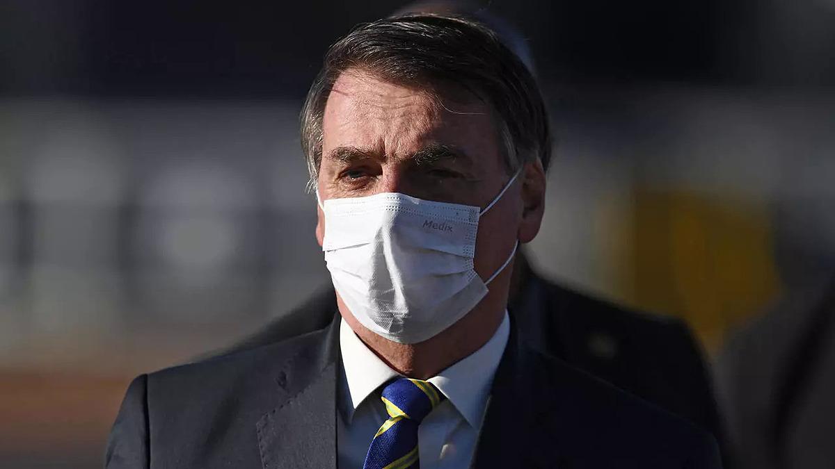 Tổng thống Bolsonaro. Ảnh: AFP.
