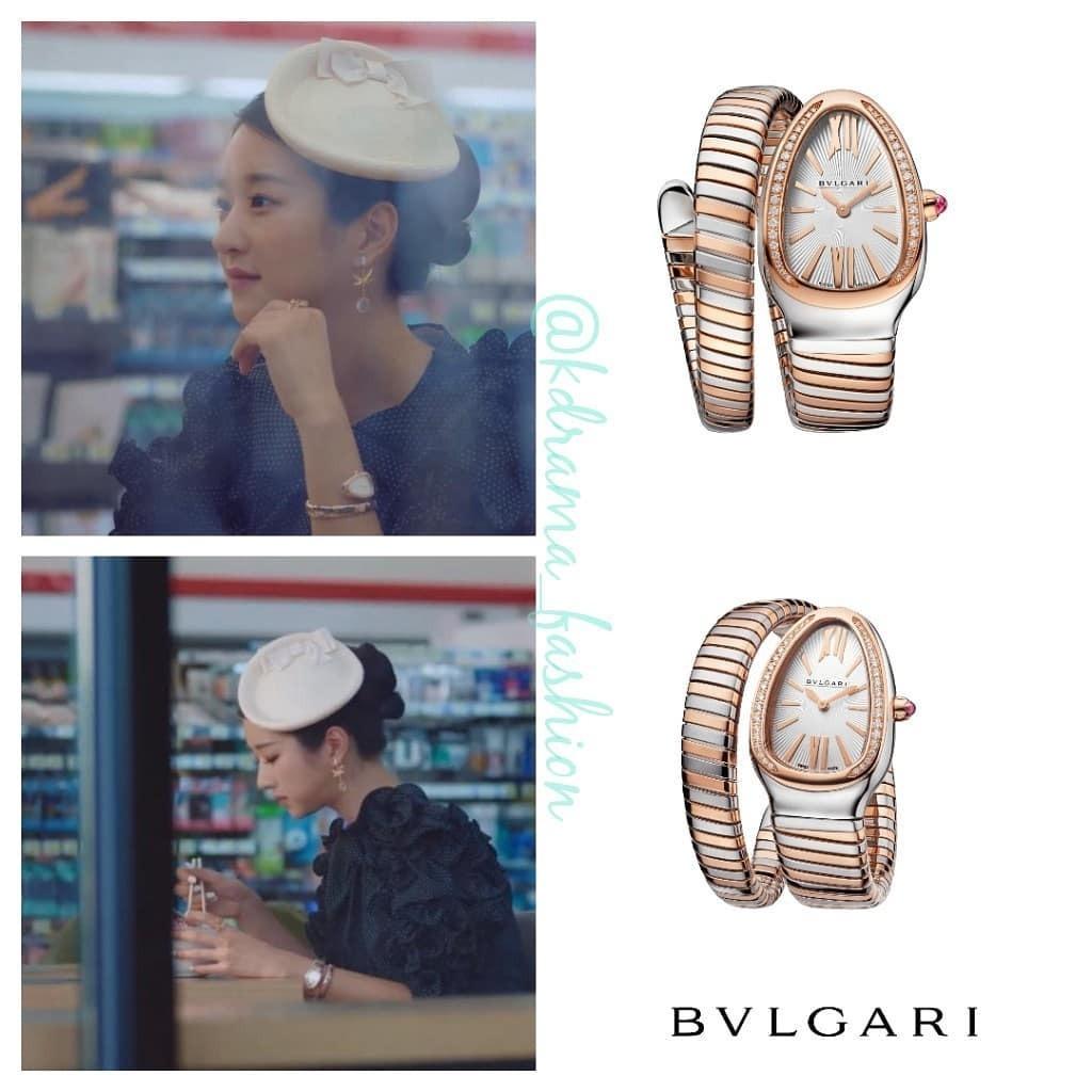 Chiếc đồng hồ Serpenti Tubogas Watch