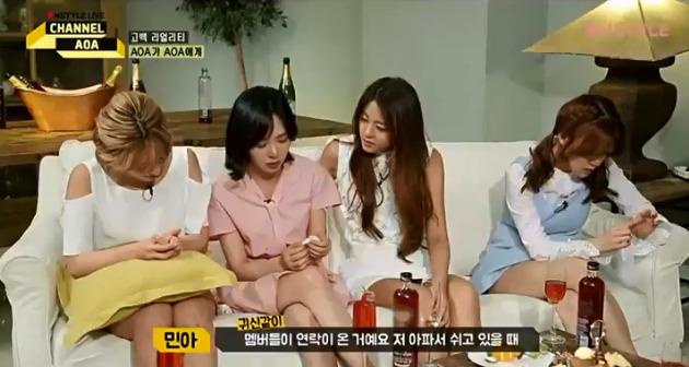 Netizen tìm bằng chứng Ji Min (AOA) bắt nạt Mina - 1
