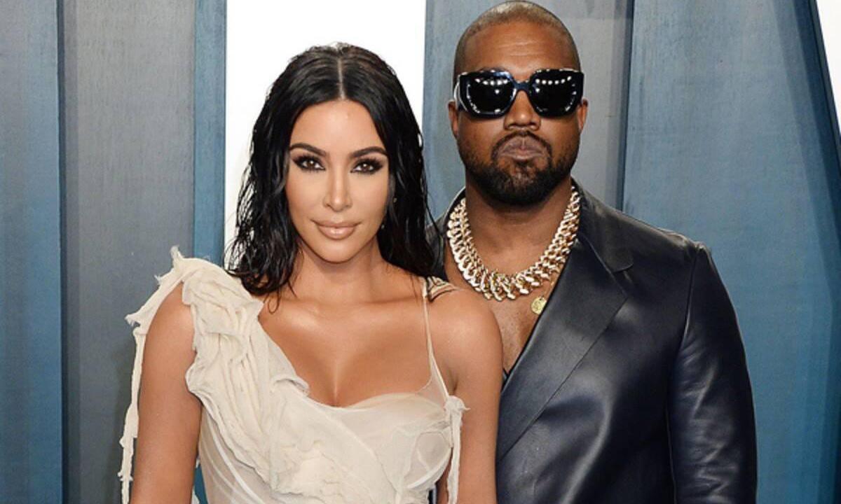 Cặp đôi thị phi Kanye West - Kim Kardashian.