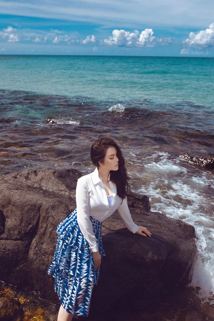 Côn Đảo thuộc địa phận tỉnh Bà Rịa - Vũng Tàu. Với vai trò Đại sứ Du lịch của tỉnh, Lý Nhã Kỳ mong bản thân sẽ lan tỏa hình ảnh, góp phần thúc đẩy du khách đến với Côn Đảo nhiều hơn.