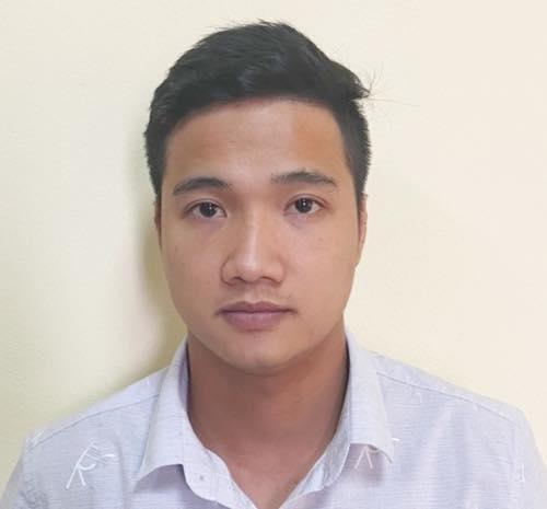 Đối tượng Nguyễn Minh Thắng. Ảnh: Công an TP Hà Nội.