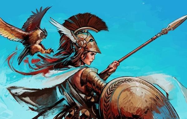 Chim công, vương miện... là biểu tượng của vị thần Hy Lạp nào? - 11