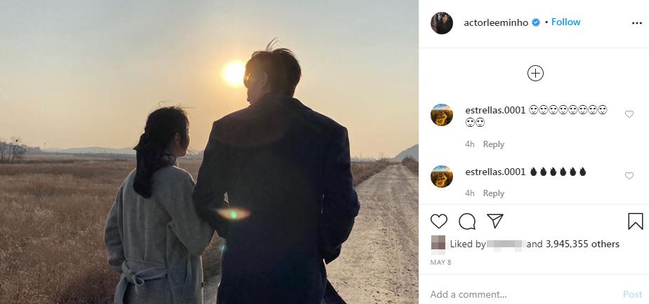 Lee Min Ho từng nhiều lần đăng ảnh chụp chung với Kim Go Eun lên Instagram.