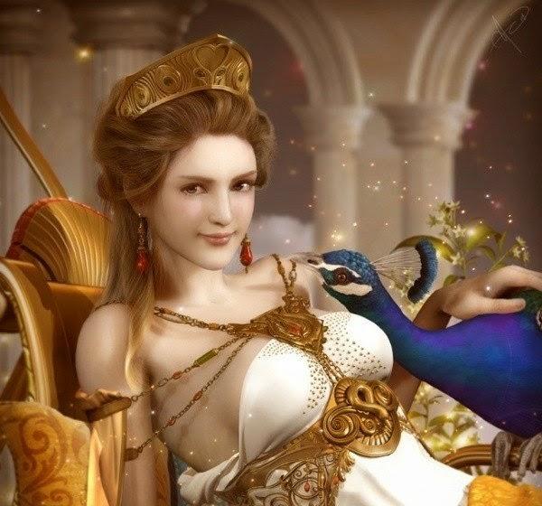 Chim công, vương miện... là biểu tượng của vị thần Hy Lạp nào? - 15