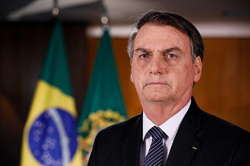Tổng thống Brazil Jair Bolsonaro.