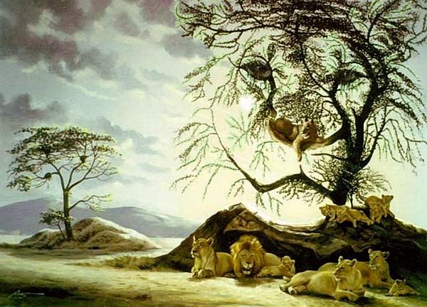 Mắt tinh đếm có bao nhiêu con sói trong hình - 1