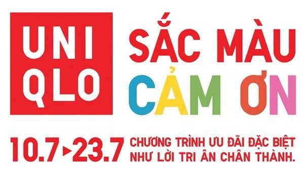 Chương trình ưu đãi tri ân khách hàng của Uniqlo Việt Nam diễn ra trong hai tuần, từ 10 đến 23/7/2020.