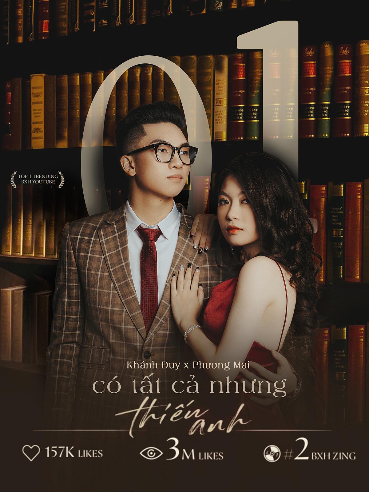 MV Có tất cả nhưng thiếu anh của Nguyễn Phương Mai 10A8 và Chu Khánh Duy 11A13.
