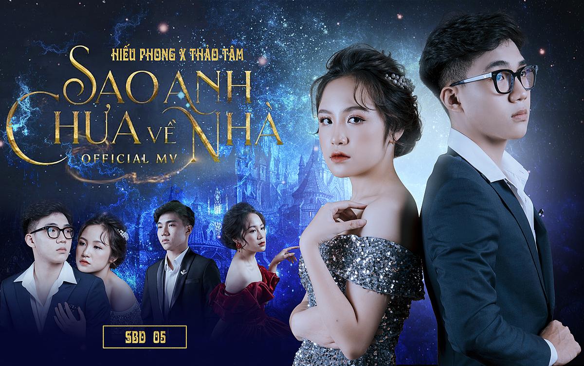 MV Sao anh chưa về nhà của cặp đôi Nguyễn Thảo Tâm 11a16 và Nguyễn Lê Hiếu Phong 11A8.