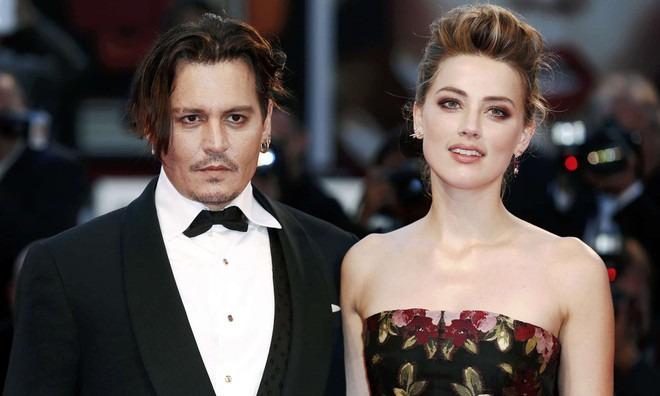 Johnny Depp và Amber Heard. Ảnh: Shutterstock.