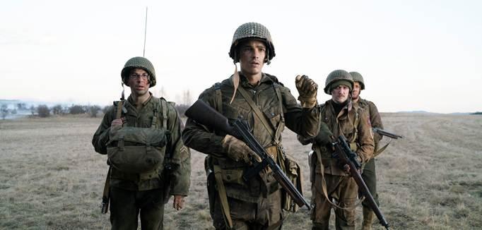 Nhóm lính Mỹ trong Thế chiến 2.