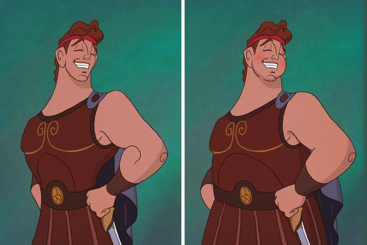 Aladdin, Tarzan trông thế nào khi mặt nọng, bụng bia? - 21