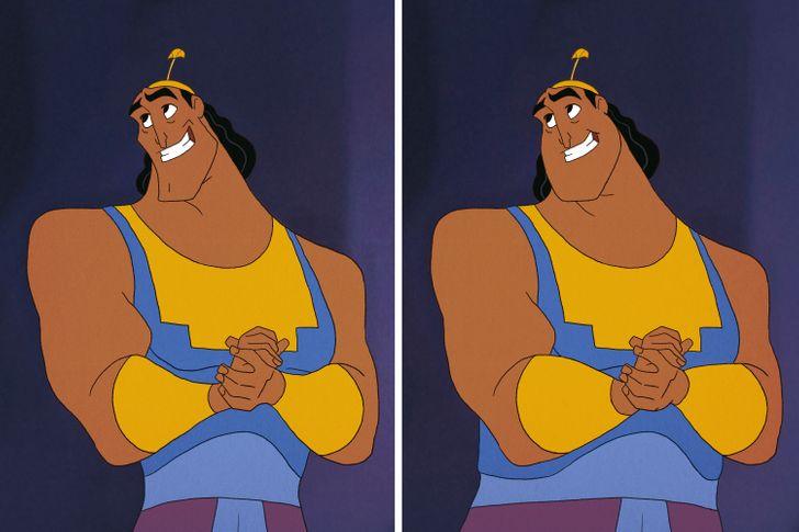 Aladdin, Tarzan trông thế nào khi mặt nọng, bụng bia? - 25