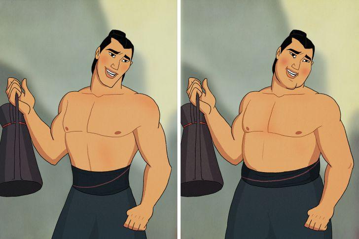 Aladdin, Tarzan trông thế nào khi mặt nọng, bụng bia? - 11