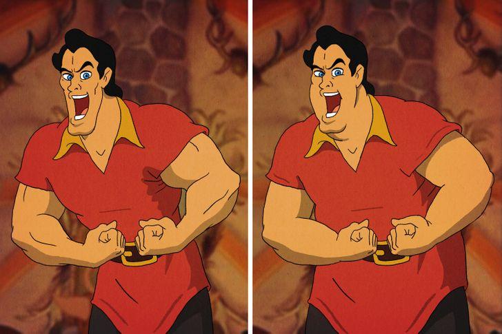 Aladdin, Tarzan trông thế nào khi mặt nọng, bụng bia? - 15