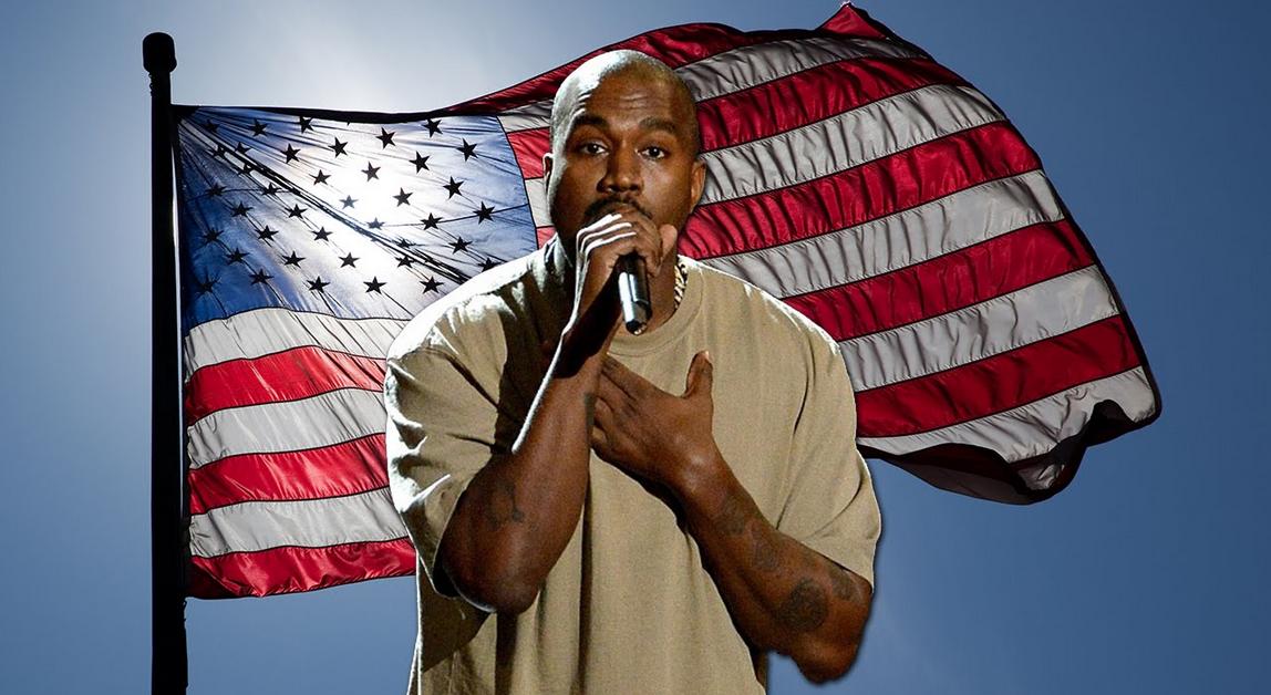 Kanye West bị chế diễu trò cười khi quyết tâm tranh cử Tổng thống