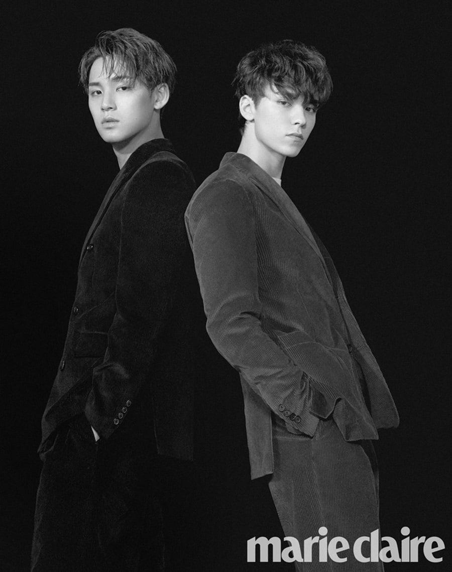 Đối với Seventeen, hai thành viên có tên tuổi nổi tiếng nhất boygroup nhà Pledis là Min Gyu và Vernon.