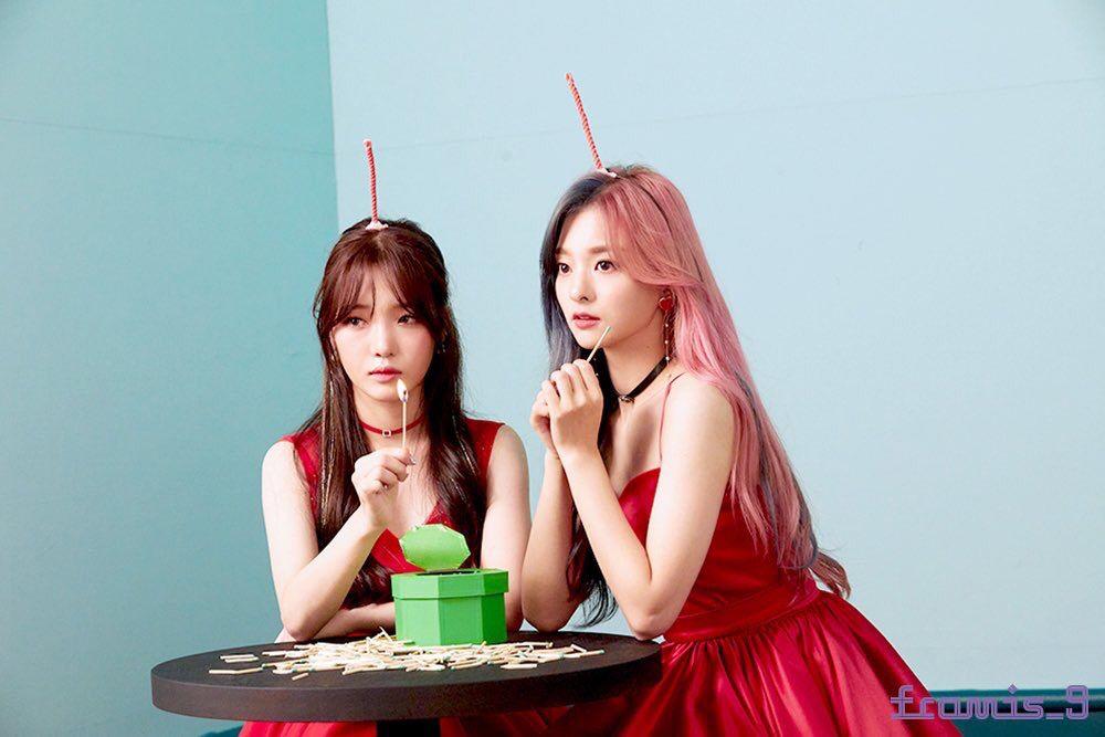 Thành viên sở hữu lượng fan cứng đông đảo nhất: Na Young (trái) và Ji Sun.
