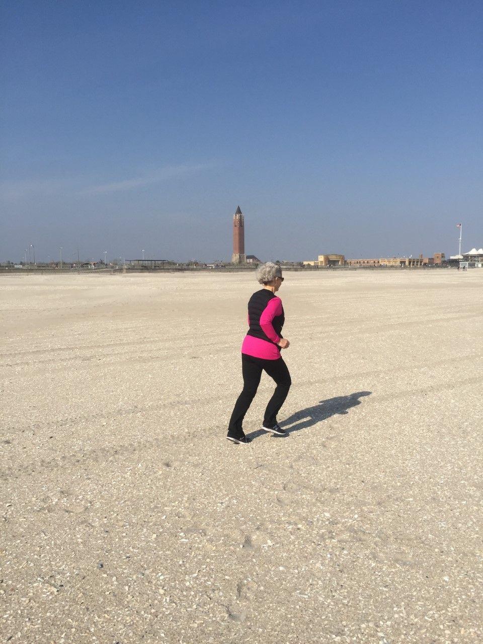 6 năm qua, bà Carole Forman cố gắng duy trì thói quen chạy 3-4 km mỗi ngày.