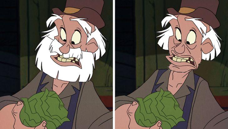 15 nhân vật Disney sẽ thế nào nếu không có bộ râu trứ danh? - 18