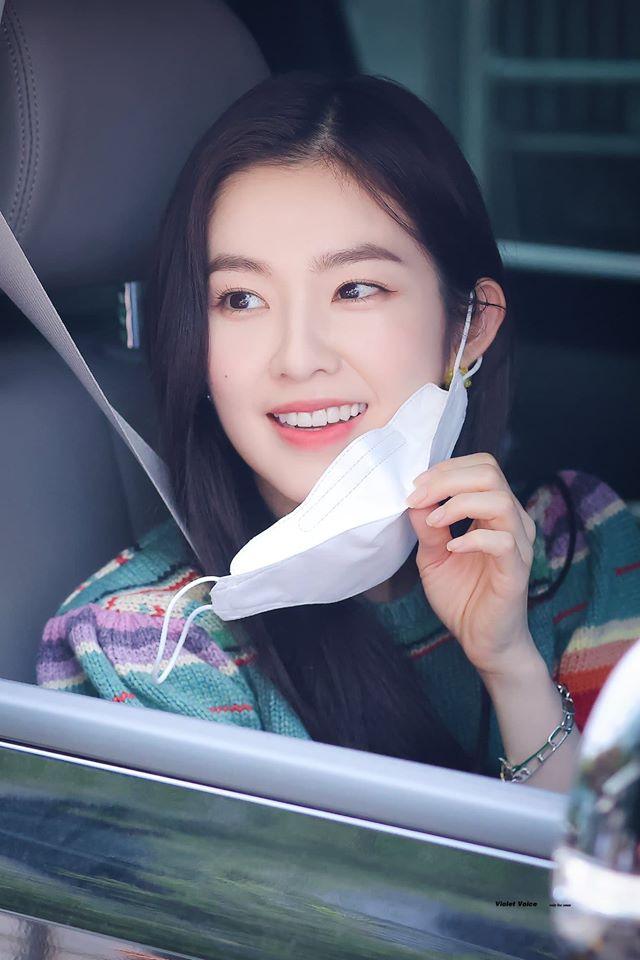 Ảnh chụp cận mặt của Irene cũng hoàn hảo.