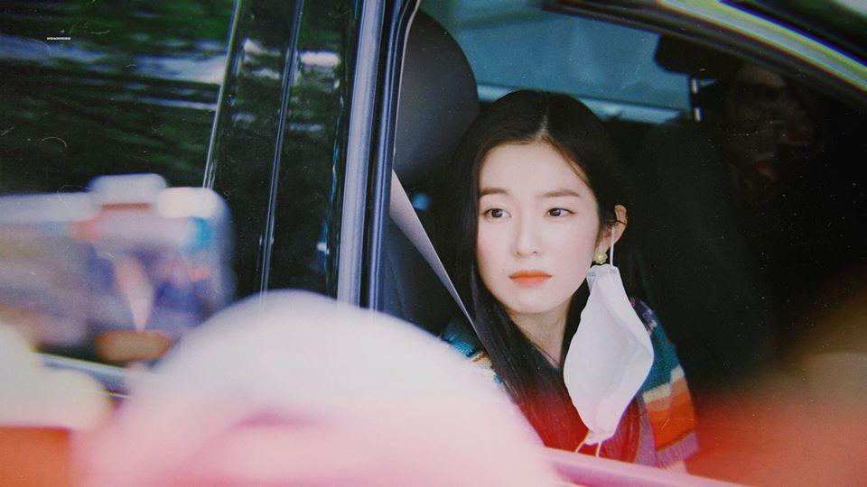 Biểu cảm đáng yêu của Irene khiến fan tan chảy.