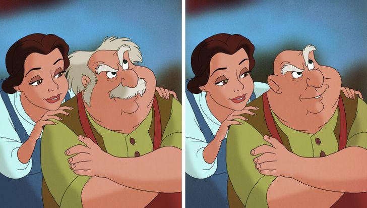 15 nhân vật Disney sẽ thế nào nếu không có bộ râu trứ danh? - 20