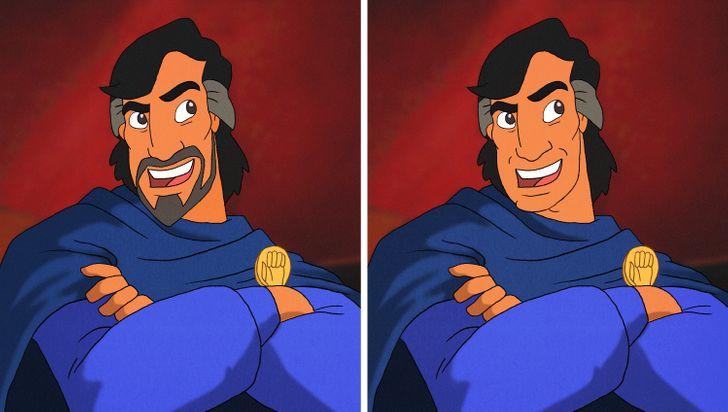 15 nhân vật Disney sẽ thế nào nếu không có bộ râu trứ danh? - 28